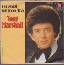 """7"""" Tony Marshall Komm setz Dich zu mir / Du weißt, ich liebe Dich 80`s Ariola"""