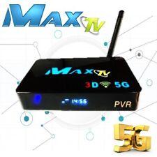 MAX TV 5G PVR IPTV Set-Top-Box 2GB/8GB faster than MAG254/MAG256