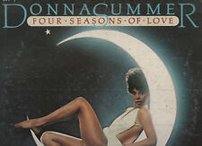 DONNA SUMMER disco LP 33  g  FOUR SEASONS OF LOVE made in ITALY 1976 + INNER