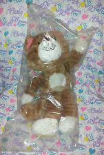"Avon Carmichael 14"" Tabby Cat Plush in Bag 1984 Korea"
