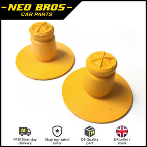 2 x Rear Spring Bump Stop Absorbers for Saab 9-3 03-14, 12802494