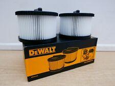 DEWALT DWV9340 2 X REPLACEMENT FILTERS FOR DWV902M DWV900L DUST EXTRACTORS