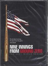 NINE INNINGS FROM GROUND ZERO 2001 World Series Baseball New York  NEW DVD