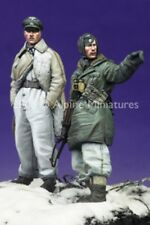 Alpine Miniatures 1:35 LAH Officer Kharkov 2 Resin Figure Set #35065