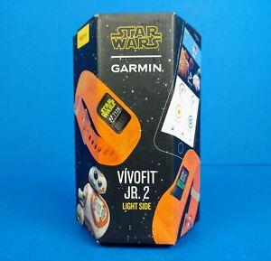 Garmin Vivofit Jr. 2 Kids Fitness Tracker Star Wars Light Side - New