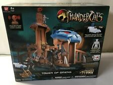 2011 Bandai ThunderCats Tower of Omens with Exclusive Tygra Figure mint box