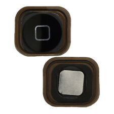 New Black Menu Home Button With Spacer For Apple iPod Touch 5 5th Generation
