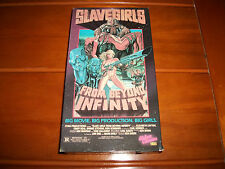 "1987 ""Slave Girls From Beyond Infinity"" VHS Horror/Sci Original UCV Release RARE"