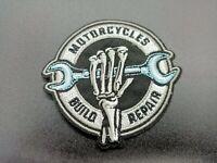 PARCHE MOTORCYCLES BULD REPAIR MECHANICS MECANICO ROPA MONO PATCH RIDER MOTOR