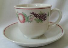 New Boots 1980/90s Orchard 1 x Cup & Saucer (More Available Pls See Description)