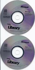 Microsoft MSDN Library Visual Studio 6.0 Two CD Set for Windows