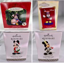 Hallmark Keepsake MICKEY MOUSE Ornaments YOU CHOOSE!