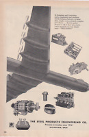 B-36 Peacemaker  Steel Products Engineering Co.  VINTAGE AD