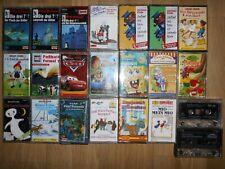 22 Kinder - Kassetten, Hörspiele und Lieder - Titel siehe Fotos