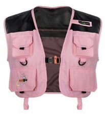 Lucky Bums Kid's Fishing and Outdoor Adventure Vest, Pink, Small, NWT