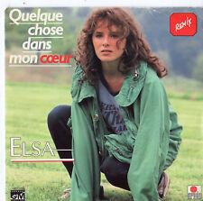 """Elsa - Quelque Chose Dans Mon Coeur 7"""" Single 1987"""