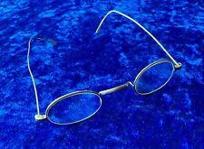 Antique Glasses Spectacles Saddle Bridge Dr Haux C1900