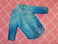 Mattel Barbie Doll KEN CLOTHING Fashionistas Modern BLUE OMBRE SHIRT Denim Look