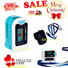 FDA CMS50N Pulse Oximeter Fingertip blood oxygen saturation,SpO2,PR monitor,OLED
