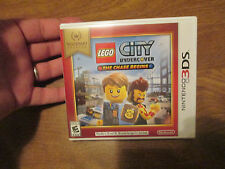 LEGO City Undercover: The Chase Begins Nintendo Selects (Nintendo 3DS, 2016) NEW