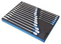 19pc Combination Hi-Torq 6 Point Spanner Set (6-24mm) 1/2 Drawer EVA Insert Tray