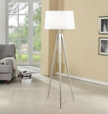 Artiva Hollywood 63-inch Brushed Nickel Tripod Floor Lamp