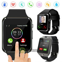 Smart Watch for iPhone iOS Android Phone Bluetooth Waterproof Fitness Tracker US