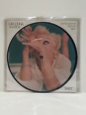 """MADONNA Take A Bow LIMITED EDITION Numbered 7"""" PICTURE DISC ~ NEVER PLAYED 1994"""