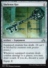 MTG 4x SKELETON KEY - PASSE-PARTOUT SCHELETRICO - SOI - MAGIC