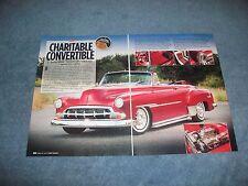 "1951 Chevy Deluxe Mild Custom Article ""Charitable Convertible"""