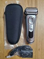 NEW Braun Series 9 S9 9330s Men's Electric Shaver Wet and Dry NO BOX- SILVER