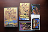 Sega Mega Drive Operation Europe Path to Victory Japan original MD game US Selle