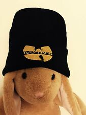Wu Tang Clan Winter Hat Beanie Black&Gold