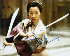MICHELLE YEOH.. Crouching Tiger, Hidden Dragon - SIGNED
