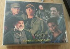 STARGATE SG-1 SEASON 5 (2002) Complete Trading Card Set AMANDA TAPPING