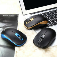 2.4GHz Wireless Optical 1200DPI Mouse Mice Gamer For PC Gaming Laptop+Receiver