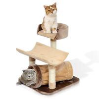"29"" Kitten Cat Scratching Post Tree Sisal Rope Cat Bed Tower Pet Furniture"