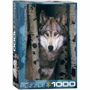 Eurographics Puzzles 1000 Piece Jigsaw Puzzle - Gray Wolf EG60001244