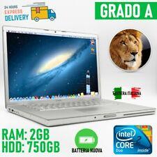 "Computer pc laptop apple mac macbook pro 15"" a1226 mid/late 2007 vintage"