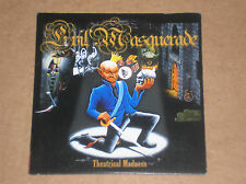 EVIL MASQUERADE - THEATRICAL MADNESS - CD PROMO COME NUOVO (MINT)