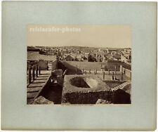 Pompei, Panorama preso del Teatro maggiore, Original Albumin-Photo, ca 1880