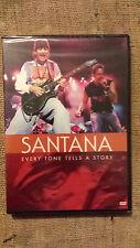 SANTANA - EVERY TONE TELLS A STORY  –- DVD  sigillato / sealed