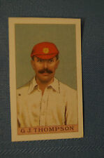 1912 Reeves Chocolates Cricket Prints by County Print 1993 - G.J. Thompson.