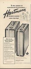 1951 Hartmann PRINT AD Skymate Luggage