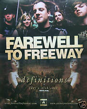 FAREWELL TO FREEWAY POSTER(F1)