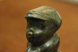 Shoe Cobbler Figurine Jupp Brux Pottery Orphan Ceramic Kleve Germany German