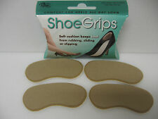 Heel Grippers - Rubber Shoe Grips Self Adhesive - 2 Pair Pack - FREE SHIPPING