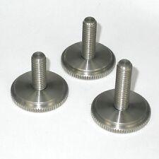 Pomello, manopola fotografica passo inglese in acciaio inox 3/8 L40mm - ID 4159