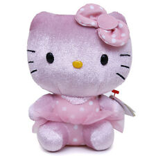Sanrio Hello Kitty Plush Doll 6in Ballerina Pink Soft Stuffed Toy TY