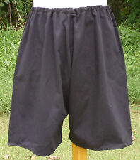 """Reproduction German WWII Black Athletic Sport Shorts 30""""-38"""" Waist Made In USA"""